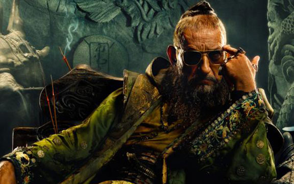 Kingsley as the Mandarin- Wonderfully done.